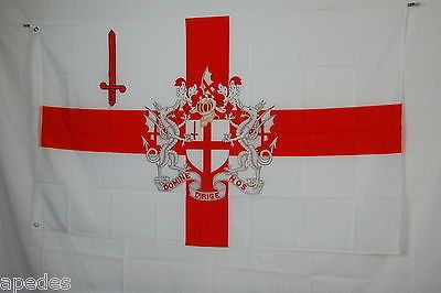 City of London England Great Britan Flag Banner 3x5