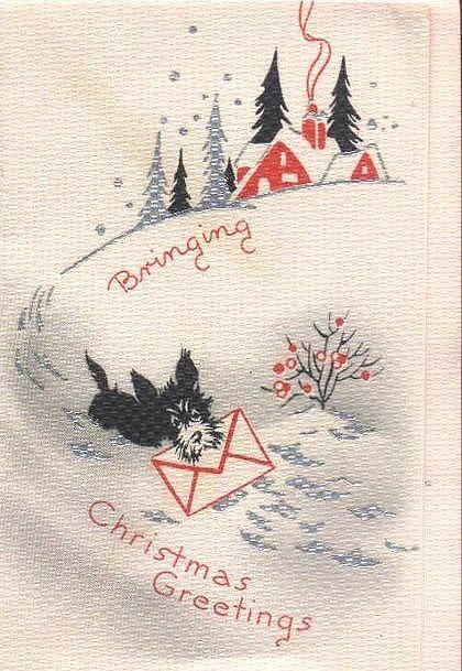 рождественские открытки шотландии оборудование