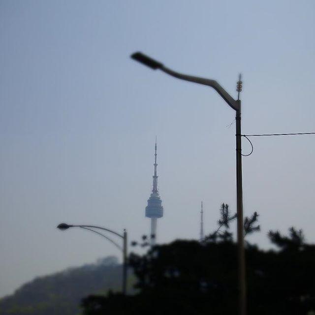 Abot tanaw mo na ang pangarap mo. 🇰🇷😎 #nseoultower #seouldreams #Seoul #southkorea #goodmorning