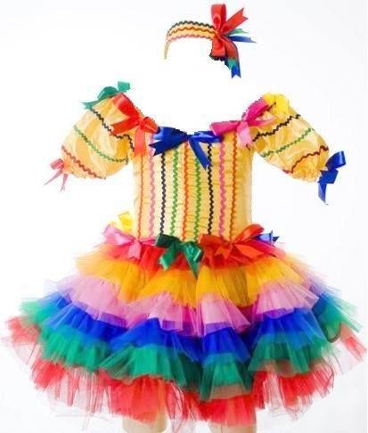 Ai vão algumas dicas de Tutus e Roupinhas para as nossas pequenas bailarinas no dia da Festa Junina.       Sabe aquela saia de tule que está...