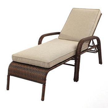 Sonoma outdoors presidio patio lounge chair stuff to for Outdoor furniture kohls