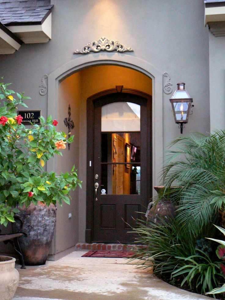 Get inspiration for your home by browsing photos of distinctive doors on HGTV.