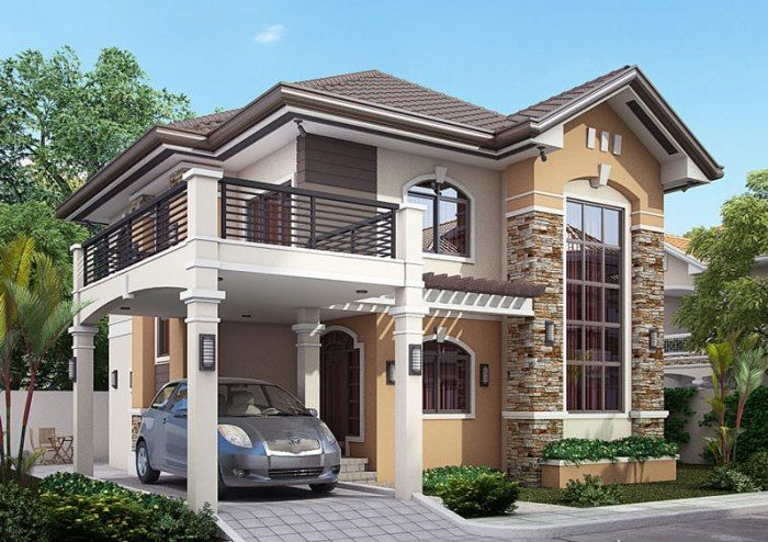 2 Story House Collection Pinoy Eplans Modern Bungalow House Philippines House Design Modern Bungalow House Design