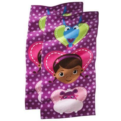 Disney® Doc McStuffins Beach Towel - 2 pack