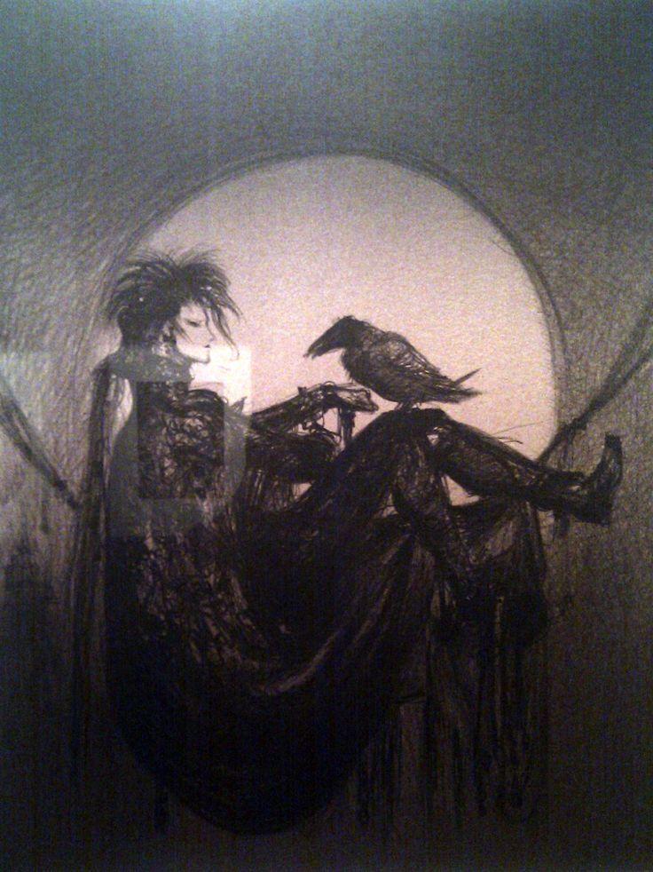 Another image of Morpheus by Yoshitaka Amano
