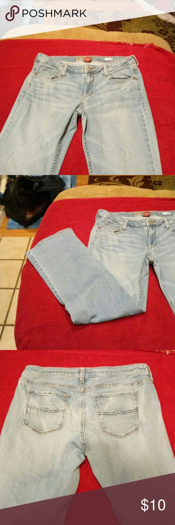 15 short faded jeans Good condition boot cut jeans Arizona Jeans Jeans Boot Cut