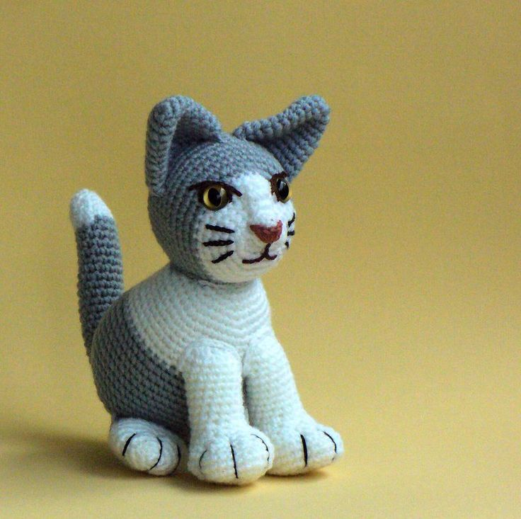 Hačkované mačiatko(koťátko) - na objednávku