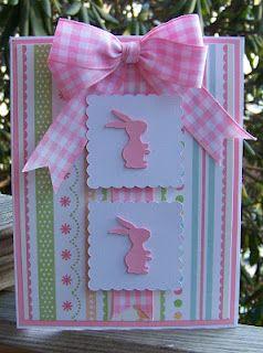 Bunny Card  My Happy Place  Wanda Boardley