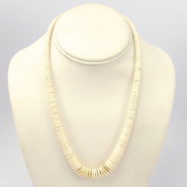 White Melon Shell Necklace