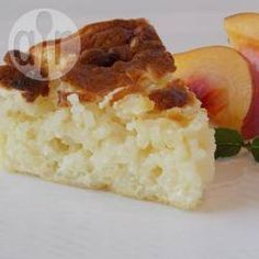 1beoordeling 15keer bewaard 55min Dit is een typische rijstcake die overal in Italië te vinden is. Deze versie is makkelijk omdat je slech...