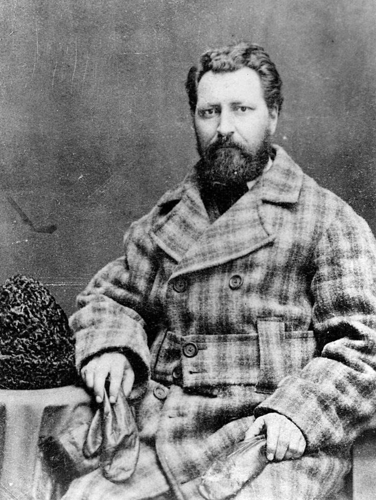 LOUIS RIEL was a Métis politician and revolutionary whose enthusiasm for presswork led to a grander idea of establishing a Catholic press at St. Peter's Mission, Montana.