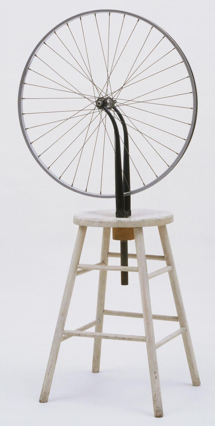 Marcel Duchamp. Bicycle Wheel. New York, 1951 (third version, after lost original of 1913)