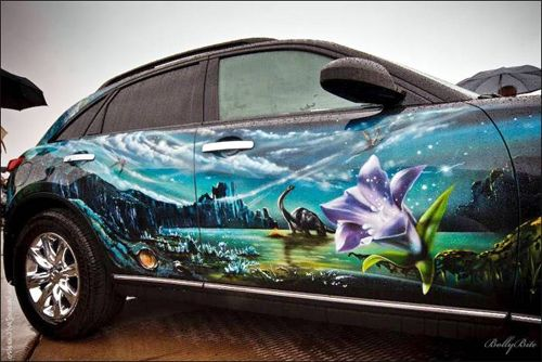 17 best images about airbrushed cars on pinterest cars for Airbrushed mural
