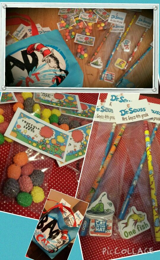 Dr Seuss Birthday Classroom Treats Dollar bin Target