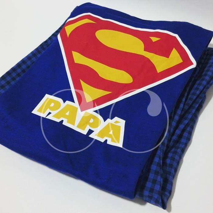 Porque los super héroes también descansan, Beatríz y su bebé le regalaran esta Pijama a Super Papá!  #DiaDelPadre #SuperHeroe #Papa #Regalos #WooHoo #Ideas #Diseño
