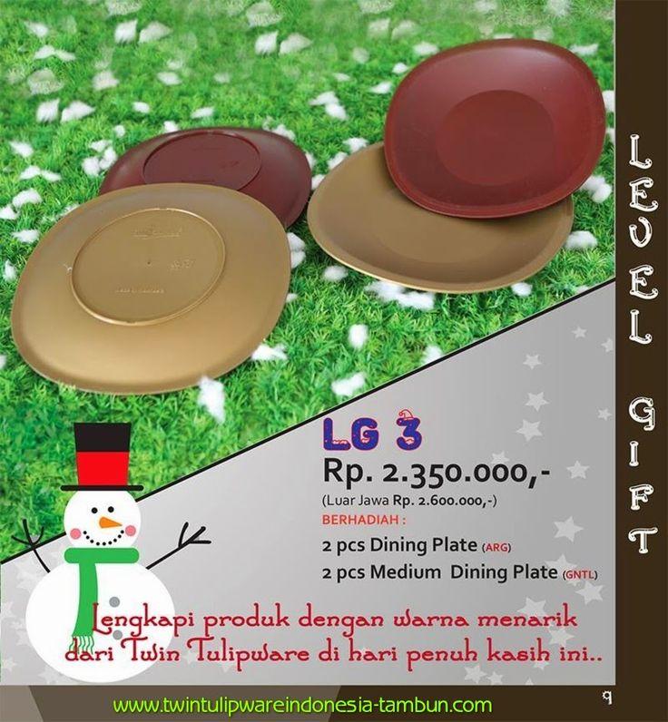 Level Gift Twin Tulipware | November - Desember 2014