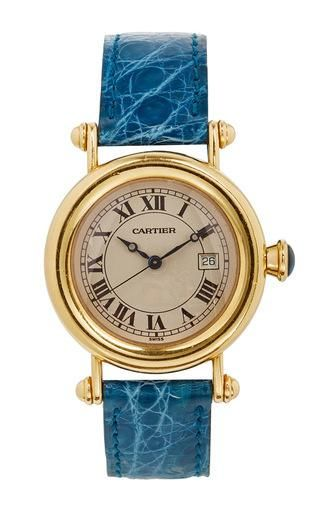 18k gold vintage cartier large diablo by LSC DESIGN ESTATE JEWELRY for Preorder on Moda Operandi