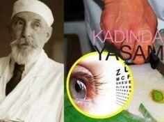 90 yaşındaki doktordan gözleri iyileştiren kür