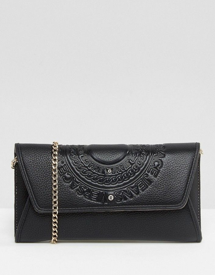 Versace Jeans Circle Logo Mini Cross Body Bag