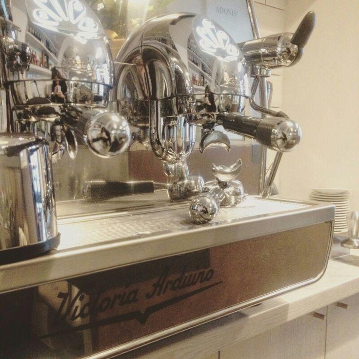 Classic coffeemachine Victoria Arduino. The best espresso ever.
