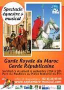 Spectacle Equestre: 4 et 5 Septembre 2014Haras du Pin