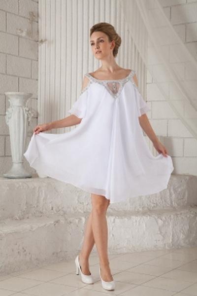 Ab Schulter A-Line Chiffon Formale Kleider ba2050 - http://www.brautmode-abendkleid.de/ab-schulter-a-line-chiffon-formale-kleider-ba2050.html - Ausschnitt: Off Schulter. Stoff: Chiffon. Ärmel: Kurze Ärmel. Farbe: Weiß. Silhouette: A-Line. - 197.59