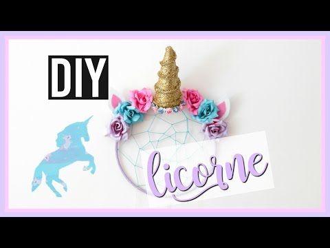 DIY LICORNE : Deco Chambre KAWAII Facile / UNICORN Room Decor (français) - YouTube