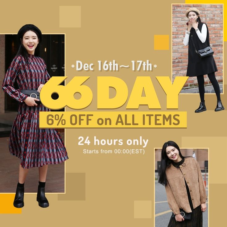 all items are now 6% OFF!!