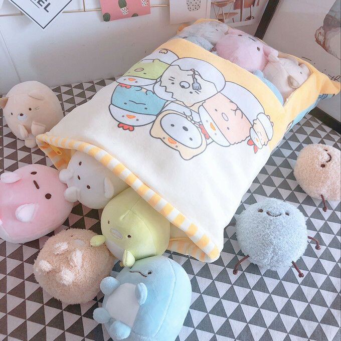 plush toy one bag san-x Sumikko Gurashi corner biological stuffed doll cushion