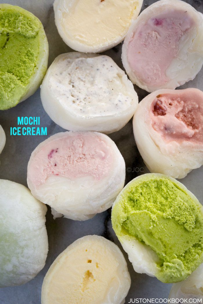 Mochi Ice Cream もちアイス | Easy Japanese Recipes at JustOneCookbook.com