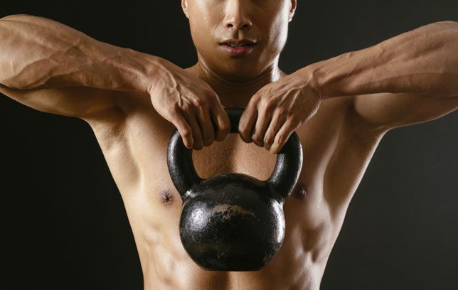 Kettlebells are finally gaining traction outside of Eastern Europe. Nowadays, men in gyms across America are using them in their daily routine. But it can still be tricky to figure out when you should swap your dumbbells or barbells for a kettlebell. So we asked kettlebell pioneer and StrongFirst.com chairman Pavel Tsatsouline for two exercises that are better with a kettlebell in your hand. Master them to start building more strength and blasting more fat.
