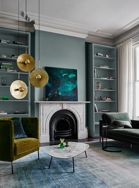 reflect colour trends living room