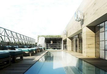 Outdoor Pool at the Cotton House Hotel, Autograph Collection, Barcelona, Spain