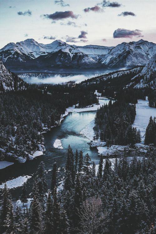 ikwt: Banff Tunnel (andrewhector) |instagram