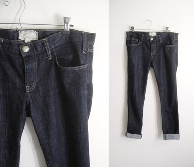 Current/Elliott   The Roller Jean: A Mini-Saia Jeans, Rollers Jeans