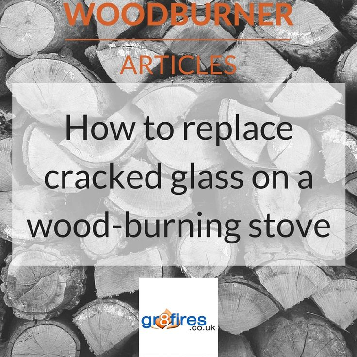 How to replace cracked glass on a woodburning stove (With