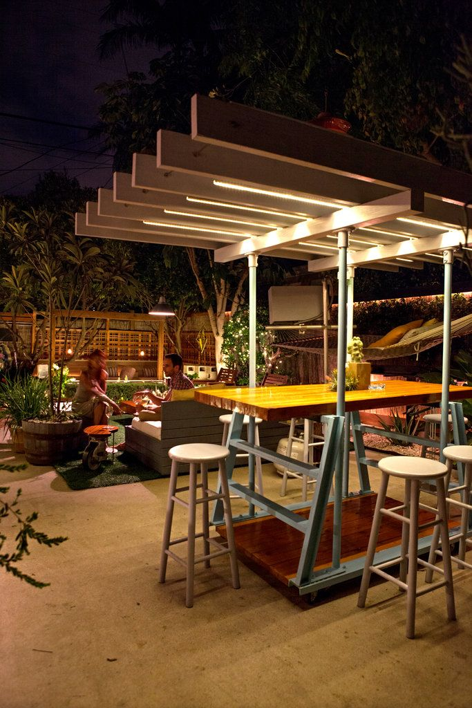 ... New York Times. See More. In The Garden At Night. The Table Is  Completely Modular. (Photo: Laure