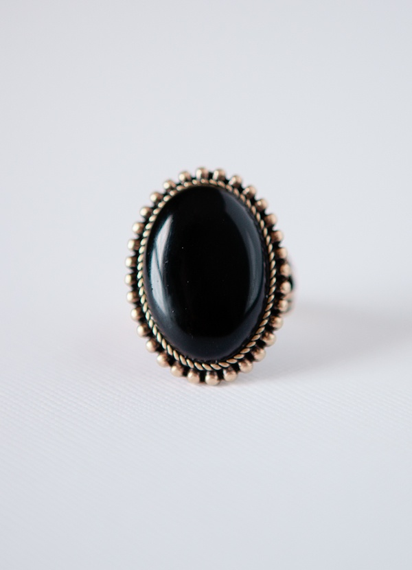Really. vintage onyx rings