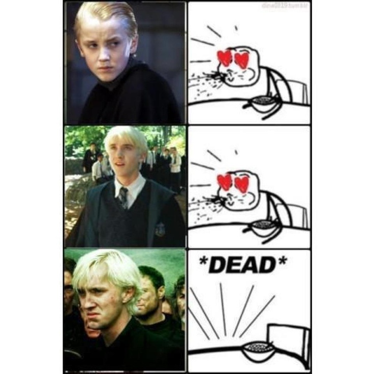 haha he was my first crush in the harry potter movies, right from the sorcerers stone :)