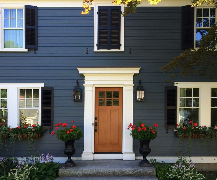 55 best Exterior home colors images on Pinterest   Exterior colors ...