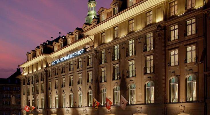 HOTEL|スイス・ベルンのホテル>中心部に位置する老舗のホテル>ホテル シュヴァイツァーホフ ベルン&ザ スパ(Hotel Schweizerhof Bern & THE SPA)