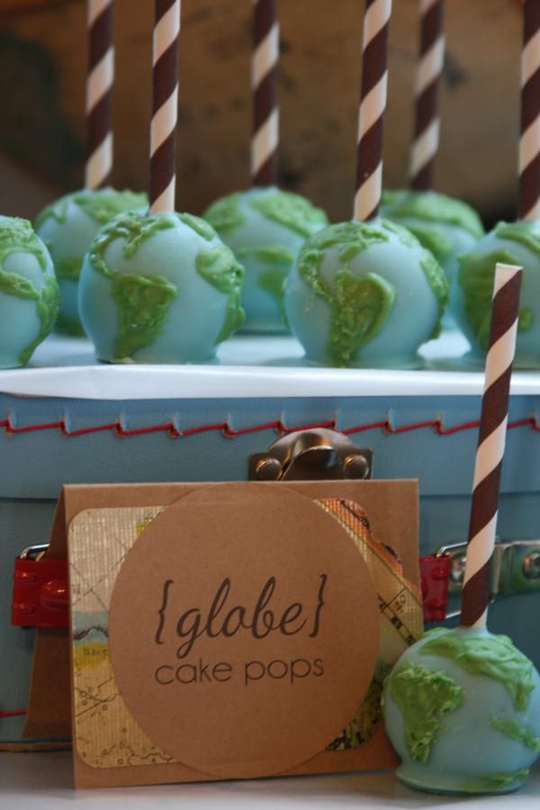 welcome to the world cake pops- totally doing this for Laura McGIll when she has a baby!! :) --- http://tipsalud.com -----