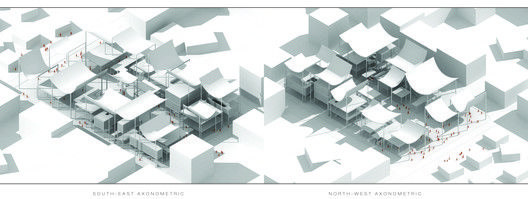 TEAM730 Designs a Multifunctional Street for China's MOLEWA Competition,Courtesy of TEAM 730