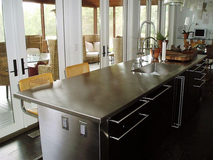 16 Best Custom Stainless Steel Countertops Images On