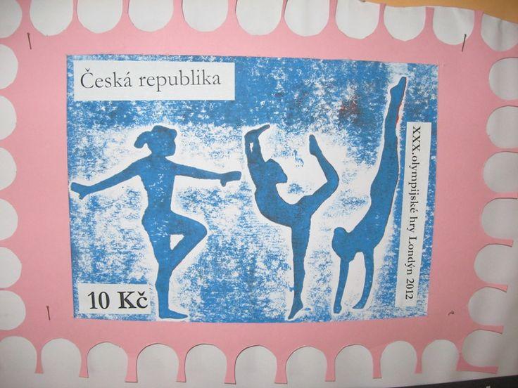 ZŠ Čakovice - výtvarná výchova - Fotoalbum - Projekt - Olympiáda a poštovní známky