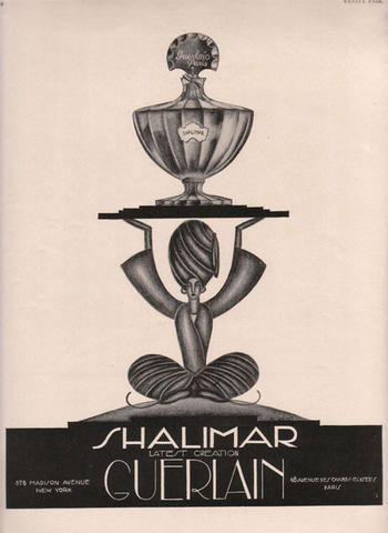 1927 Shalimar Guerlain, pour toujours... ( designerwallace )