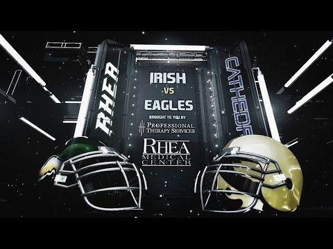 Live High School Football Rhea County Golden Eagles host Cathedral Fightin' Irish - 2016 Football - IBOtube