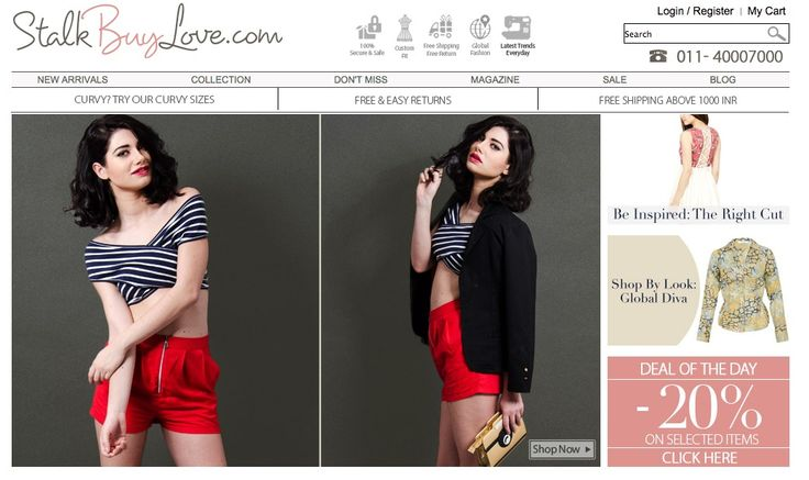 One of my favorite online stores – StalkBuyLove.com