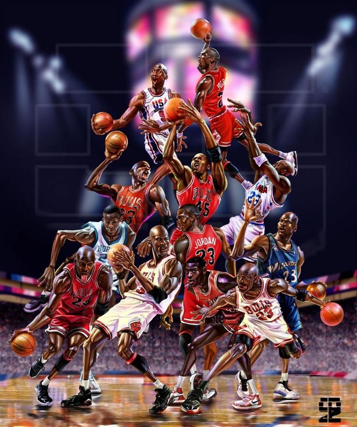 micheal Jordan art...