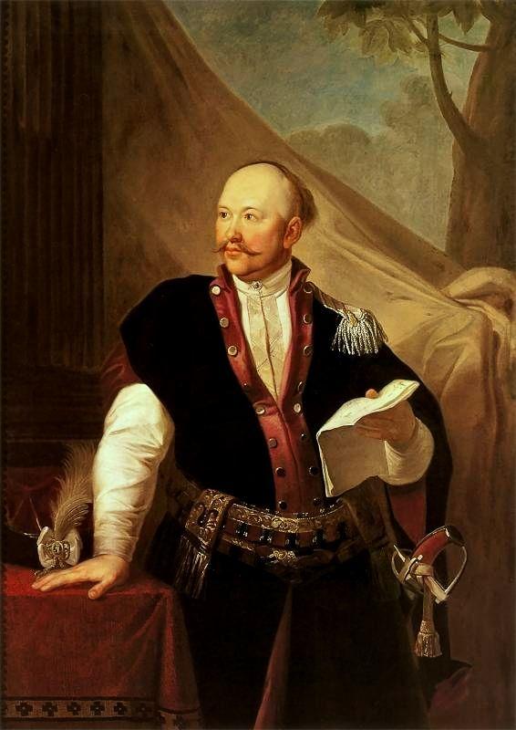 Józef Peszka, Portrait of Stanisław Kublicki. 1790-1791